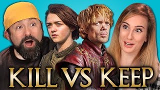 Repeat youtube video KILL vs KEEP: GAME OF THRONES EDITION