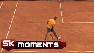 Jedinstveni Nik Kirjos Oslikan u Tri Poena Protiv Medvedeva   SPORT KLUB Tenis