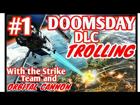DOOMSDAY DLC Trolling with the Strike Team and Orbital Cannon #1 GTA 5 Online