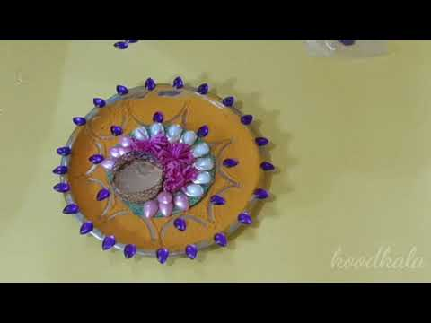 Navratri decoration ideas at home | ganpati Decoration kaise banaye |janmashtami decoration from YouTube · Duration:  7 minutes 1 seconds
