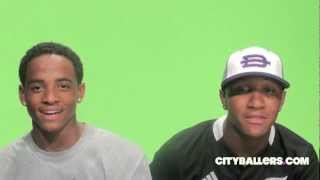 Cordell Broadus & Kanya Bell - Diamond Bar High Football