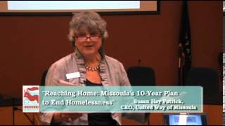 Reaching Home: Missoula's 10-Year Plan to End Homelessness