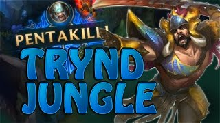Nightblue3 - COMEBACK PENTAKILL TRYNDAMERE JUNGLE IS OP