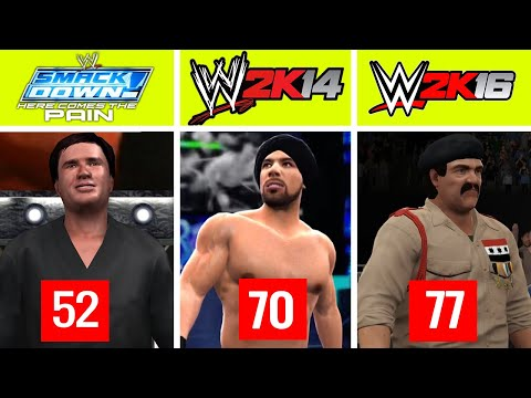 LOWEST Rated Male Wrestlers In Every Game Since Smackdown HCTP (to WWE  2K20)
