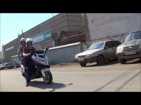 Скутер-макси WARRIOR JET