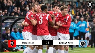 Salford City 3-1 Boreham Wood - National League 22/09/2018