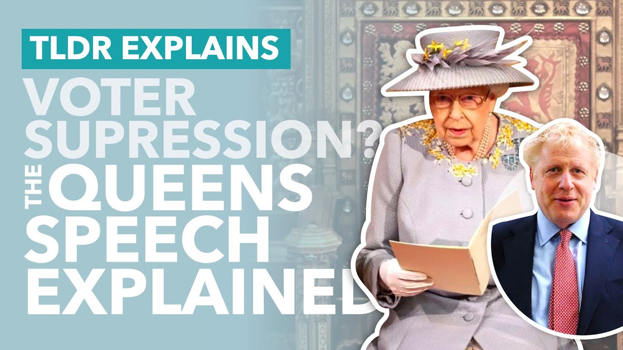 Johnson Planning Voter Suppression? The Queen's Speech Explained - TLDR News