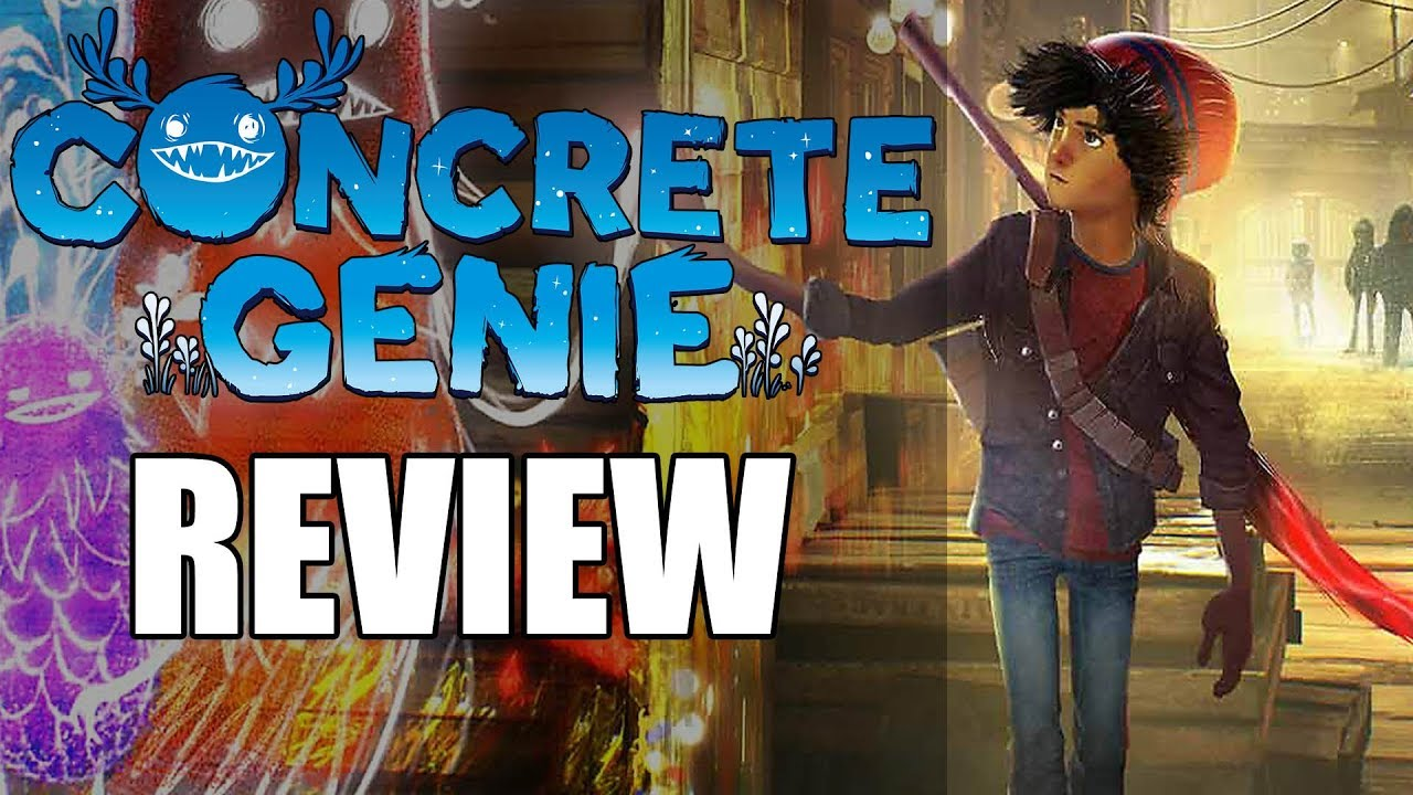 Concrete Genie Review - The Final Verdict (Video Game Video Review)