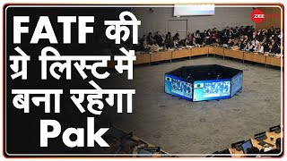 FATF की Grey List में बना रहेगा Pakistan | Breaking News | Pakistan FATF News