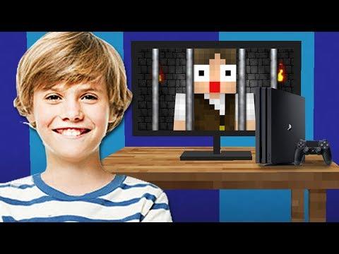 UM FÃ ME PRENDEU EM UM VÍDEO GAME NO MINECRAFT!!!