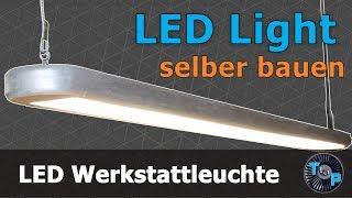 Designer LED Hängeleuchte selber bauen