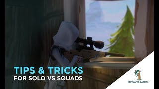Solo vs Squads Tips and Tricks Guide To Success | Fortnite Battle Royale