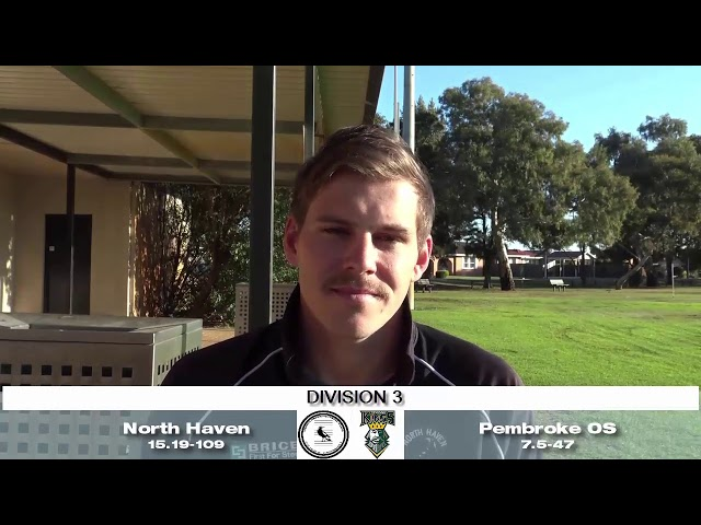 SA Adelaide Footballer 9: Div 3 Weekly Wrap with North Haven Star Player, Matthew Reed
