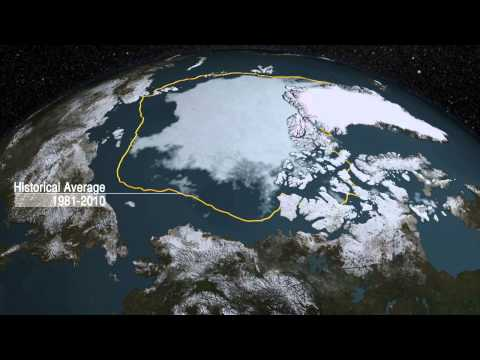 NASA | Arctic Sea Ice Reaches 2015 Minimum Extent