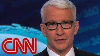 Anderson Cooper imitates Trump's 'no' moment