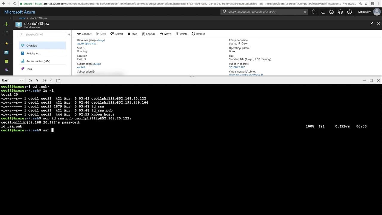 linux ssh public key not working