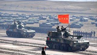 Russland und China üben den großen Einsatz