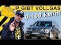 JP testet: 0-100 im E500 Mercedes W211 V8 5.5 (E550 - 387 PS - LPG) 0-60 | E-Klasse | JP Performance