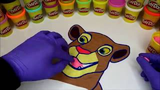 I Made A Lion! WHAT? LOOK! l LION KING