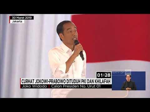 Curhat Jokowi-Prabowo Dituduh PKI &  Khilafah