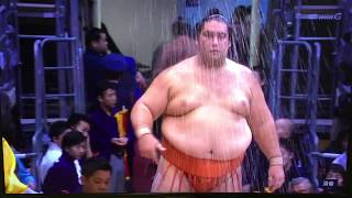 November 2018 - Day 8 - Hokutofuji v Kaisei