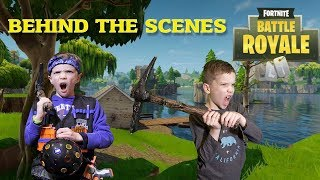 Nerf War : Fortnite Battle Royale In Real Life Behind the Scenes (Twin Toys)