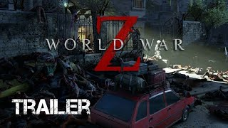 Amazing! World War Z - New Gameplay Cinematic Trailer PS4
