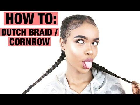 how-to:-dutch-braid/cornrow-&-baby-hairs-|-natural-hair
