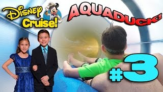 Download Video GETTIN' WET on the AQUADUCK WATER COASTER! 4K Disney Cruise Adventure PART 3 MP3 3GP MP4