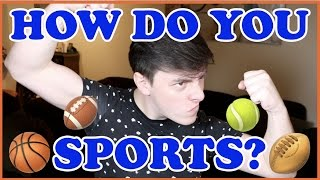 SPORTS Explained by Non-Athletes! | Thomas Sanders