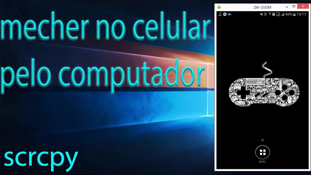 Como instalar SCRCPY no computador