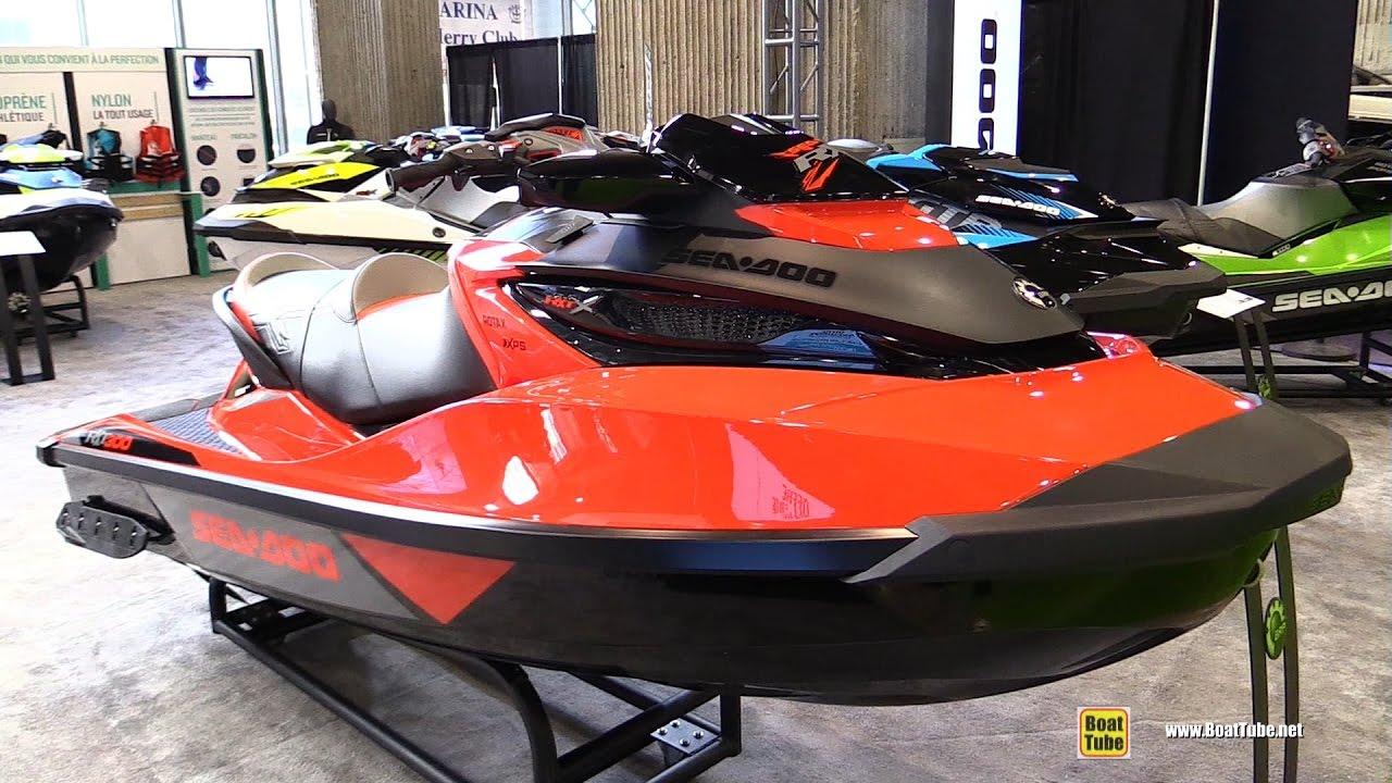 2017 Sea Doo Rxt X 300 Jet Ski Walkaround Montreal Boat Show