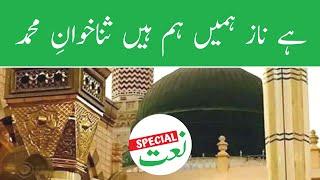 Naat Special   Hai Naaz Hamain Ham Hain Sana Khwaan e Muhammad