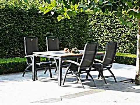 Decoracion exteriores mesas y sillas para terrazas y for Sillas colgantes para jardin