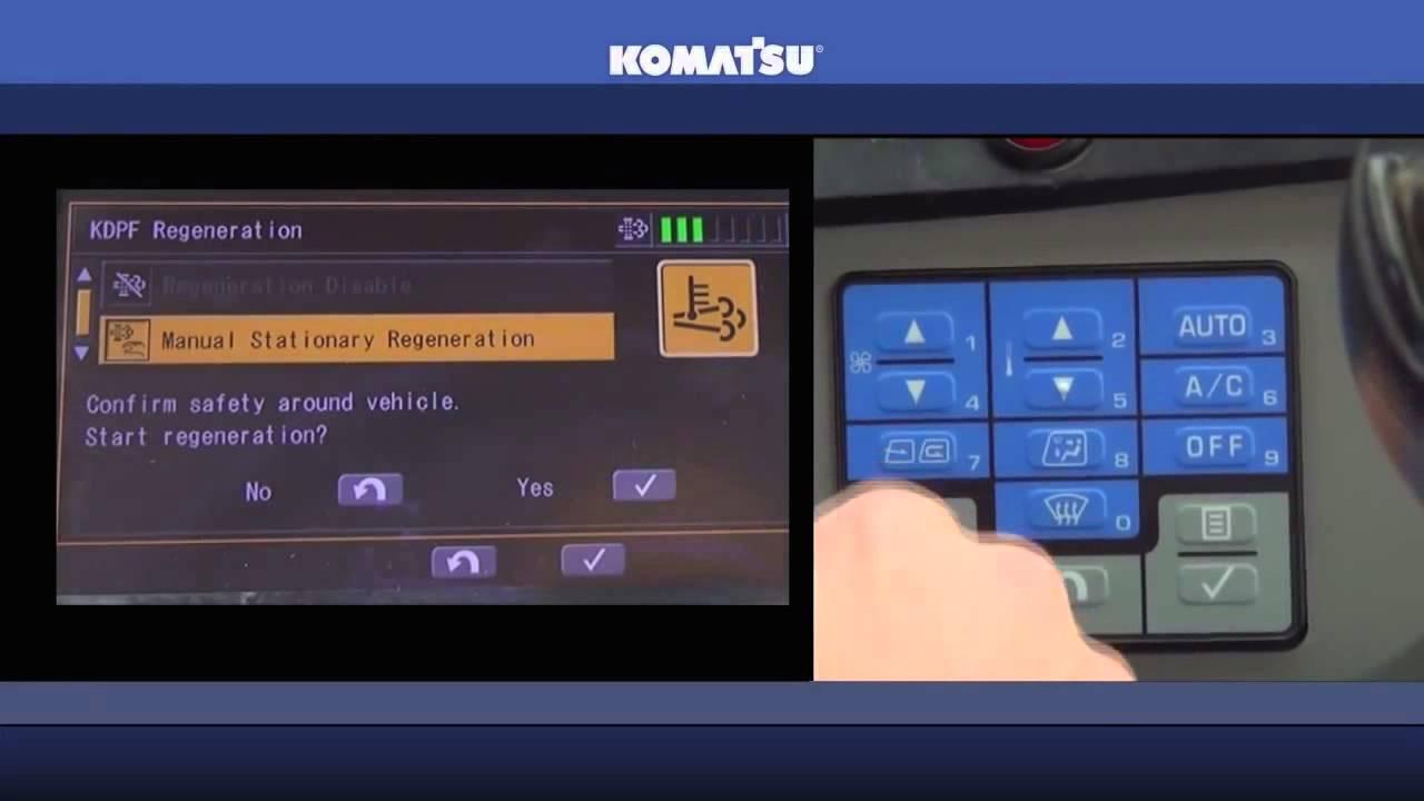 Komatsu Tier 4 Operator Guidance Video