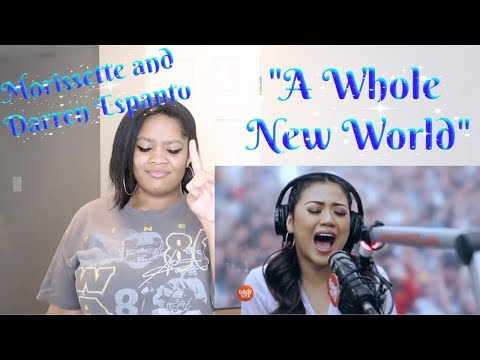 "Morrisette and Darren Espanto- ""A Whole New World""Reaction{Wish1075 Bus} *Beautiful Technique💕*"