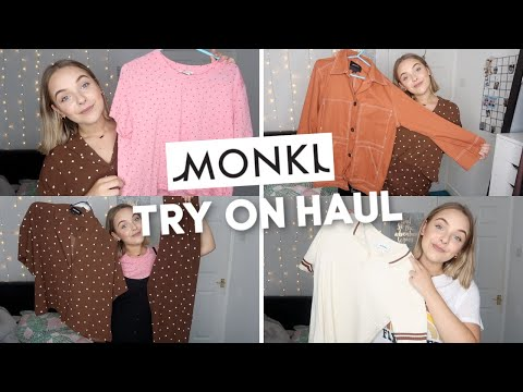 MONKI TRY ON HAUL!