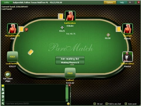 покер париматч
