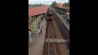 タイの電車@フアタケ
