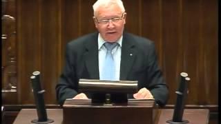 Józef Racki - wystąpienie z 8 stycznia 2014 r.