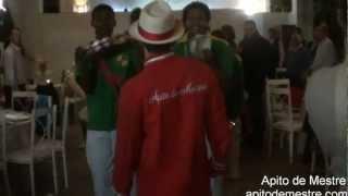 Abertura de Show de Bateria de Escola de Samba em Casamento - Apito de Mestre