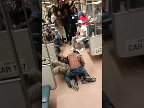 Baltimore MD Subway Fist Fight Ufc Friday Morning