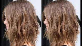 Classic Concave Layers Haircut Tutoral | Layered Bob Haircut step by step