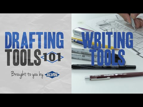 Drafting Tools 101 - Writing Tools For Drafting And Technical Drawing