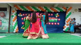 Anndamayana guvav nuv dance by Naveen master in sr school parkal