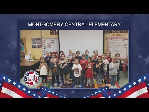 The Morning Pledge - Montgomery Central Elementary School - 11/1/19