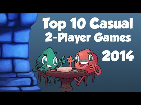 Top 10 Casual Two Player Games