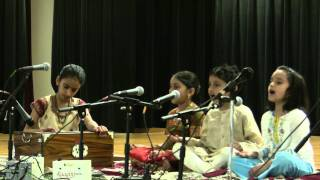 Alankar School of Indian Classical Music - May 21 2011 - Gata Moha Shruta Pala Bhajan