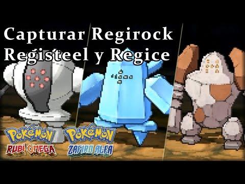 Conseguir a los regis en Pokémon Rubí Omega / Zafiro Alfa - Regirock Registeel Regice from YouTube · Duration:  14 minutes 44 seconds