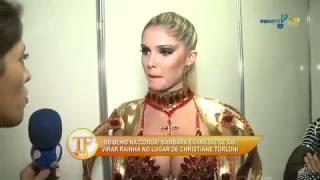 tv fama Barbara Evans esnoba ataque de Andressa Urach 11 03 2014 mircmirc